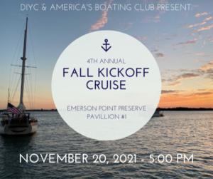 Fall Kick off Cruise